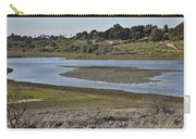 Newport Estuary Looking Across At Visitors Center  Carry-all Pouch