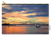 Newport Gold Carry-all Pouch by Joann Vitali