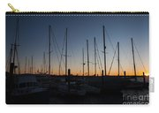 Newport Harbor Rhode Island Boats At Sunset Carry-all Pouch