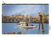 Newport Oregon - Coastal Fishing Carry-all Pouch