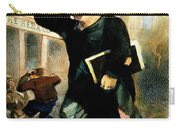 Newsboy Shouting, 1847 Carry-all Pouch