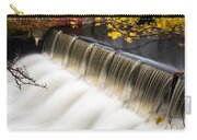 Newton Upper Falls Autumn Waterfall Carry-all Pouch