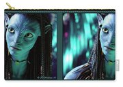Neytiri - Gently Cross Your Eyes And Focus On The Middle Image Carry-all Pouch