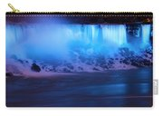 Niagara Falls Blue Glow Carry-all Pouch