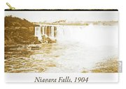 Niagara Falls Ferry Boat, 1904, Vintage Photograph Carry-all Pouch