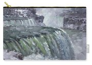 Niagara Falls In Winter  Carry-all Pouch