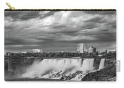 Niagara Falls - The American Side 3 Bw Carry-all Pouch