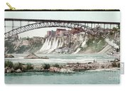 Niagara River, C1900.  Carry-all Pouch by Granger
