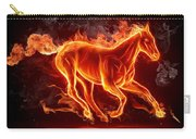 Nice Horse 3d Carry-all Pouch