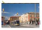 Nice Tramway At Place Massena Carry-all Pouch