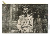 Nicholas II (1868-1918) Carry-all Pouch
