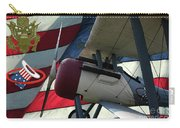 Nieuport 28c Hat In The Ring Carry-all Pouch