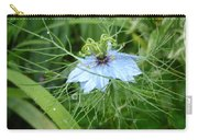 Nigella In Spring Rain Carry-all Pouch