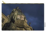 Night At The Foot Of St. Charles Bridge Carry-all Pouch by Matthew Wolf