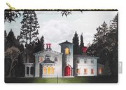Italian House Country House Detail From Night Bridge  Carry-all Pouch
