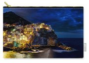 Night Comes To Manarola Carry-all Pouch