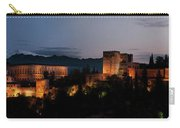 Night Comes To The Alhambra Carry-all Pouch