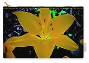 Night Glow Lily Carry-all Pouch