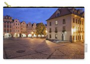 Night In City Of Jelenia Gora In Poland Carry-all Pouch
