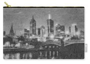 Night Landscape In Melbourne Carry-all Pouch