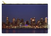 Night Lights Of Downtown Vancouver Carry-all Pouch