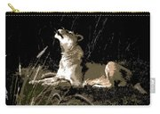 Night Lioness Carry-all Pouch