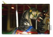 Night Mares At The Central Park Carousel 3 Carry-all Pouch