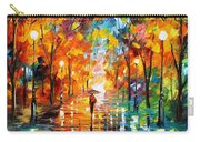 Night Mood In The Park Carry-all Pouch