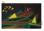Night On The Green Fractures And Lights Carry-all Pouch