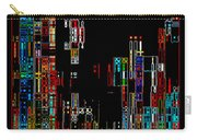 Night On The Town - Digital Art Carry-all Pouch by Carol Groenen