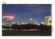 Night Pano Of Fort Worth Carry-all Pouch