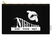 Night Raider Ww2 Malaria Poster Carry-all Pouch