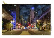 Night Shot Of Broad Street - Philadelphia Carry-all Pouch