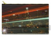 Night Shot Of Downtown Los Angeles Skyline From 6th St. Bridge Carry-all Pouch