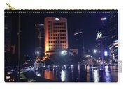 Night Skyline Of Jakarta Indonesia 3 Carry-all Pouch