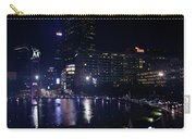 Night Skyline Of Jakarta Indonesia 4 Carry-all Pouch