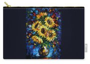 Night Sunflowers Carry-all Pouch