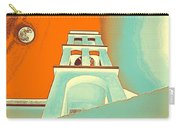Night Taking Over The Day Of Church In Greece Crete 3 Carry-all Pouch