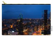 Night Tallinn City Line Panorama Carry-all Pouch