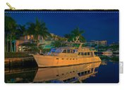 Night Time In Fort Lauderdale Carry-all Pouch