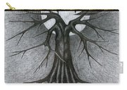 Night Tree Moon And We  Carry-all Pouch