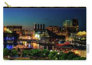 Night View Inner Harbor Carry-all Pouch