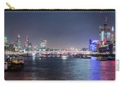 Night View Of Blackfriars Bridge London Carry-all Pouch