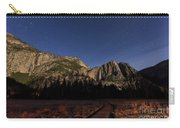 Night View Of The Upper Yosemite Fall Carry-all Pouch