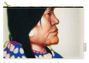 Night Woman, A Blackfeet Of Montana Carry-all Pouch