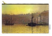 Nightfall In Scarborough Harbour Carry-all Pouch