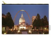 Nighttime At The Arch Carry-all Pouch