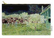 Nighttime In The Church Graveyard Carry-all Pouch