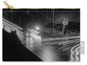 Nighttime Street Scene With Traffic Carry-all Pouch