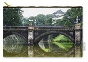 Nijubashi Bridge At Imperial Palace Carry-all Pouch